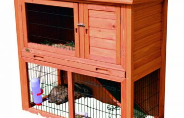 how to make a rabbit hutch out of furniture
