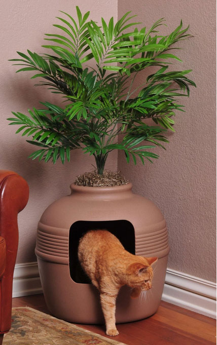 Planter Litter Box2 The Pet Furniture Store