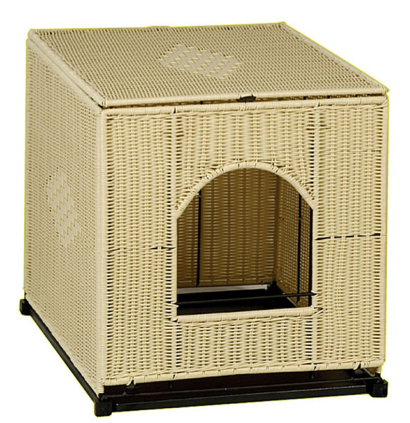 A Stylish Way To Hide That Litter Box The Pet Furniture