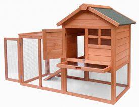 Merax-Natural-Wood-House-Pet-Supplies-Small-Animals-House-Rabbit-Hutch-0