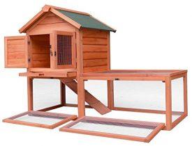 Merax-Pet-Supplies-Wood-House-Rabbit-Hutch-Outdoor-Run-56L-X-256W-X-39H-0