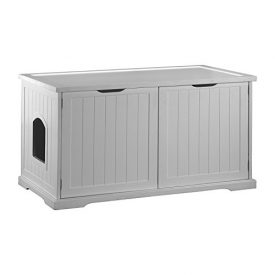 Merry-Products-Cat-Washroom-Bench-White-0