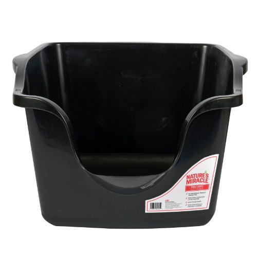 Nature S Miracle High Sided Litter Box P 82035 The Pet