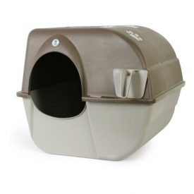 Omega-Paw-Self-Cleaning-Litter-Box-Pewter-0