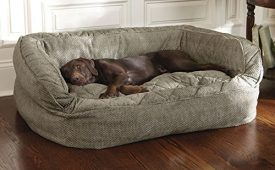 Orvis-Lounger-Deep-Dish-Dog-Bed-Cover-Large-Brown-Tweed-Large-0