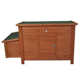 Pawhut-Wooden-Chicken-Coop-Poultry-Hutch-w-Nesting-Box-0