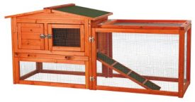 TRIXIE-Pet-Products-Rabbit-Hutch-with-Outdoor-Run-X-Small-0