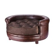 Villacera-Chesterfield-Faux-Leather-Large-Dog-Bed-Designer-Pet-Sofa-By-Villacera-Brown-0