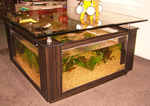 68 gallon square coffee table aquarium fish ready with light and filter the pet furniture store - Fish tank coffee table amazon ...