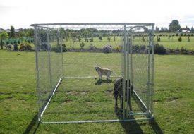 ALEKO-Dog-Kennel-13-x-7-12-x-6-DIY-Box-Kennel-Chain-Link-Dog-Pet-System-Run-for-Chicken-Coop-Hens-House-0