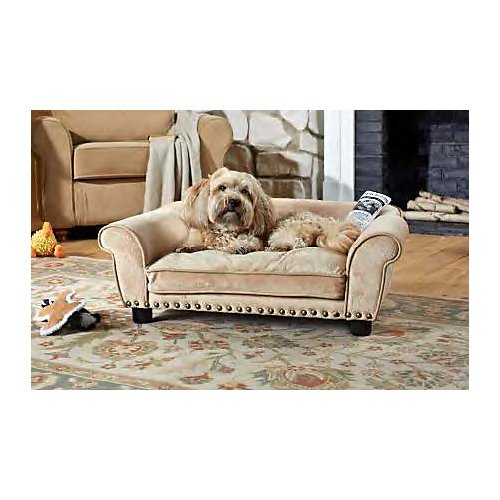 Enchanted Home Pet Dreamcatcher Dog Sofa 32 5 By 21 By 12 Inch Caramel The Pet Furniture Store