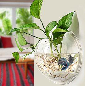 Fu-Global-Home-Decoration-Pot-Wall-Hanging-Mount-Bubble-Aquarium-Bowl-Fish-Tank-Aquarium-0