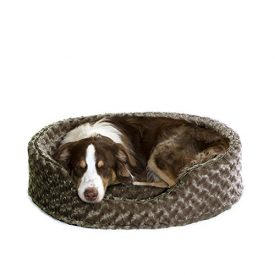 Furhaven-Pet-NAP-Oval-Ultra-Plush-Bed-for-Dog-or-Cat-Large-Chocolate-0