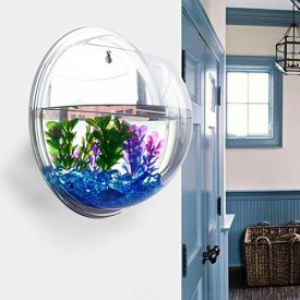 Homecube-Wall-Hanging-Bubble-Fish-Tank-Flowerpot-Wall-Mount-Acrylic-Fish-Bowl-Decoration-with-stonesplantMirror-0