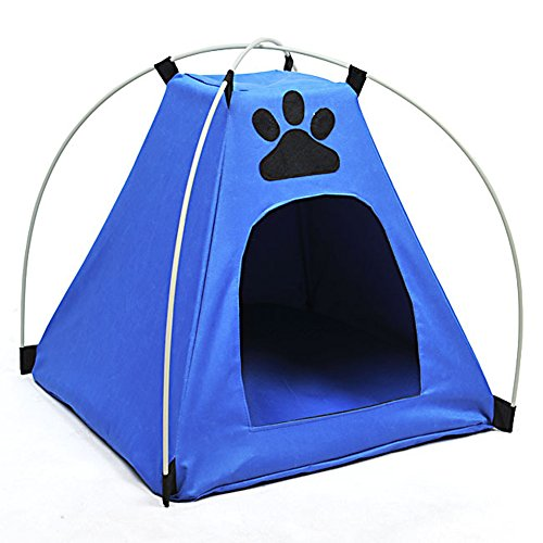 JJ Store Foldable Pet Tent Dog Bed ...  sc 1 st  The Pet Furniture Store & JJ Store Foldable Pet Tent Dog Bed House Outdoor Dog Shelter - The ...