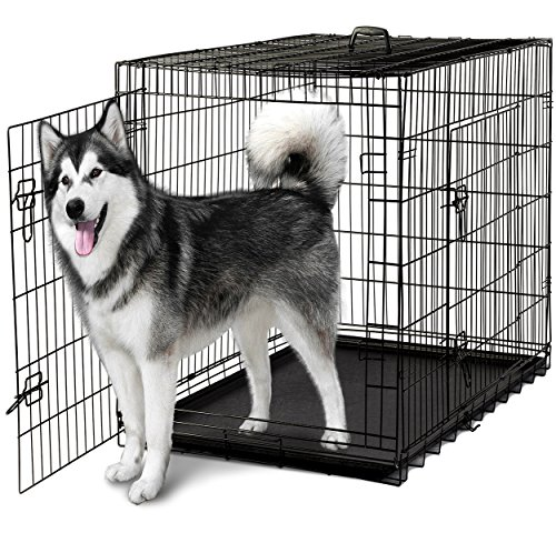 Paws u0026 Pals 48u2033 Dog Crate Double-Door ...  sc 1 st  The Pet Furniture Store & Paws u0026 Pals 48