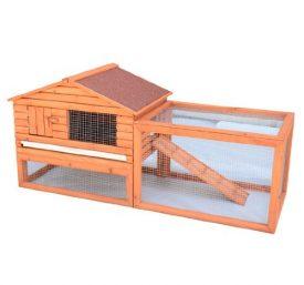 Pawhut-Outdoor-Guinea-Pig-Pet-HouseRabbit-Hutch-Habitat-with-Run-0