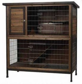 Super-Pet-Rabbit-Hutch-2-Story-48-Inch-Wide-0