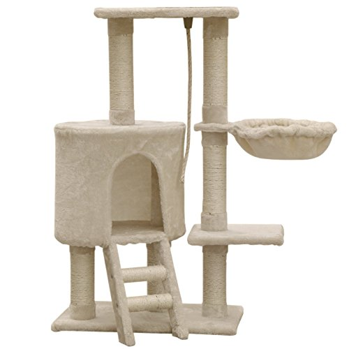8de386f584a6 FirstWell Cat Tree Condo Tower with Scratching Posts Kitty Trees ...