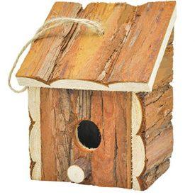 Gardirect-Wood-Decorative-Birdhouse-Hanging-Wooden-Garden-Bird-House-0