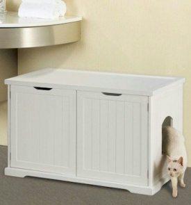 Merry-Pet-Products-MPS012-Cat-Washroom-Litter-Box-Cover-Walnut-0