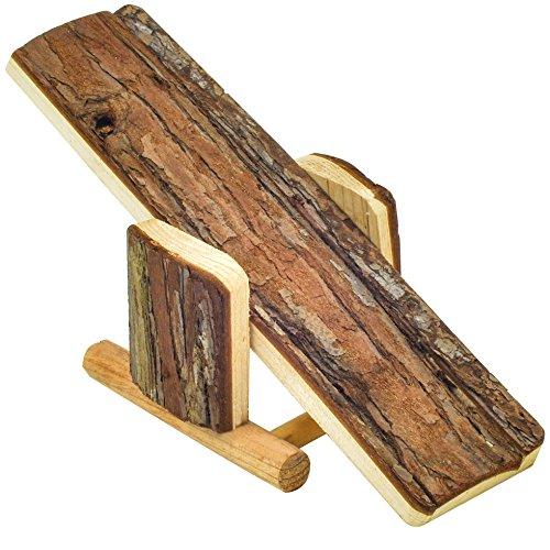 NiteangeL® Natural Wood Hamster Seesaw