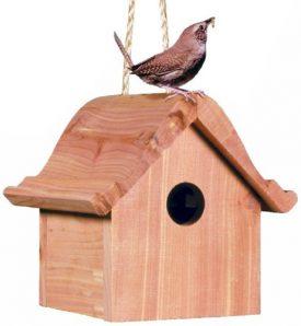 Perky-Pet-50301-Wren-Home-Cedar-Birdhouse-0
