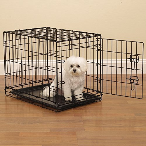 proselect easy dog crates for dogs and pets black small With small medium dog kennel