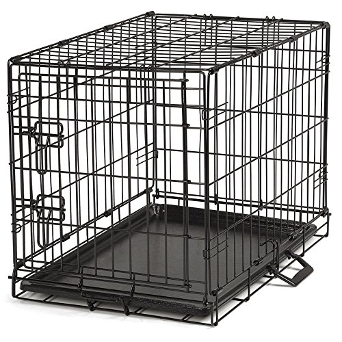 proselect easy dog crates for dogs and pets black small With dog cages for medium dogs