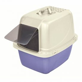 Van-Ness-Large-Enclosed-Cat-Litter-Pan-Colors-Vary-0