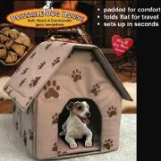 PORTABLE-DOG-HOUSE-Soft-warm-and-comfortable-and-goes-everywhereAssorted-colors-TanBlueRed-0