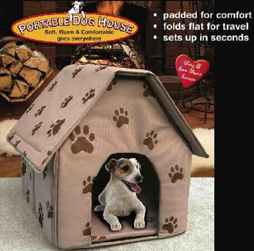 10 dog houses that will make humans and dogs drool with for Soft indoor dog house large