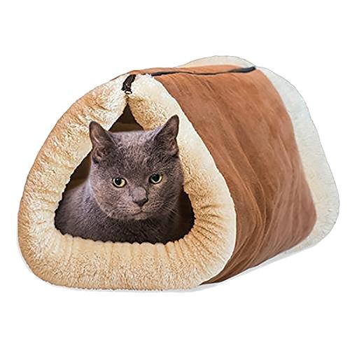 Cat tents ...  sc 1 st  The Pet Furniture Store & Cat tents Petforu 2 in 1 Tube Cat Mat Bed Kitty Cat Toy Pet ...