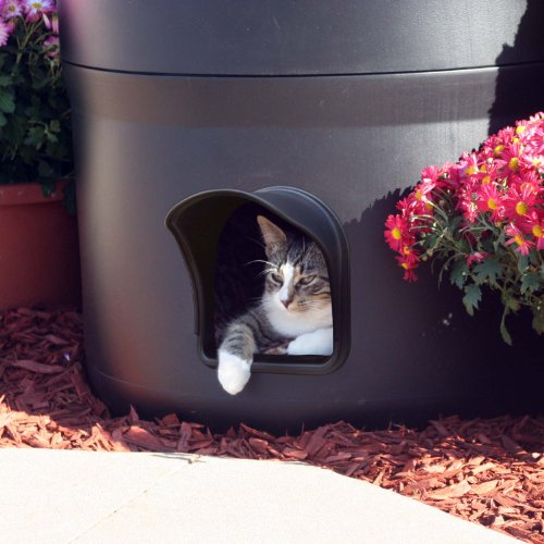 The Kitty Tube Gen 3 Outdoor Cat House With Custom Pet