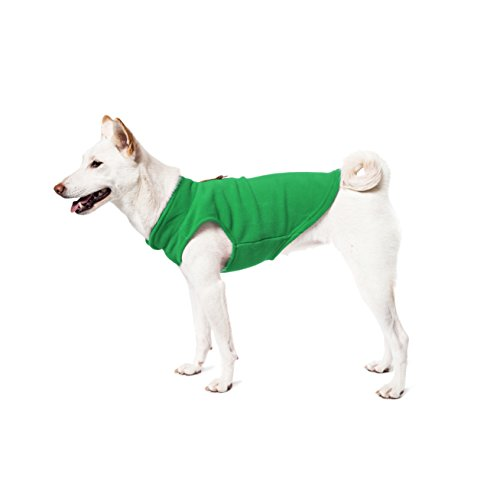 Gooby Every Day Fleece Cold Weather Dog Vest For Small