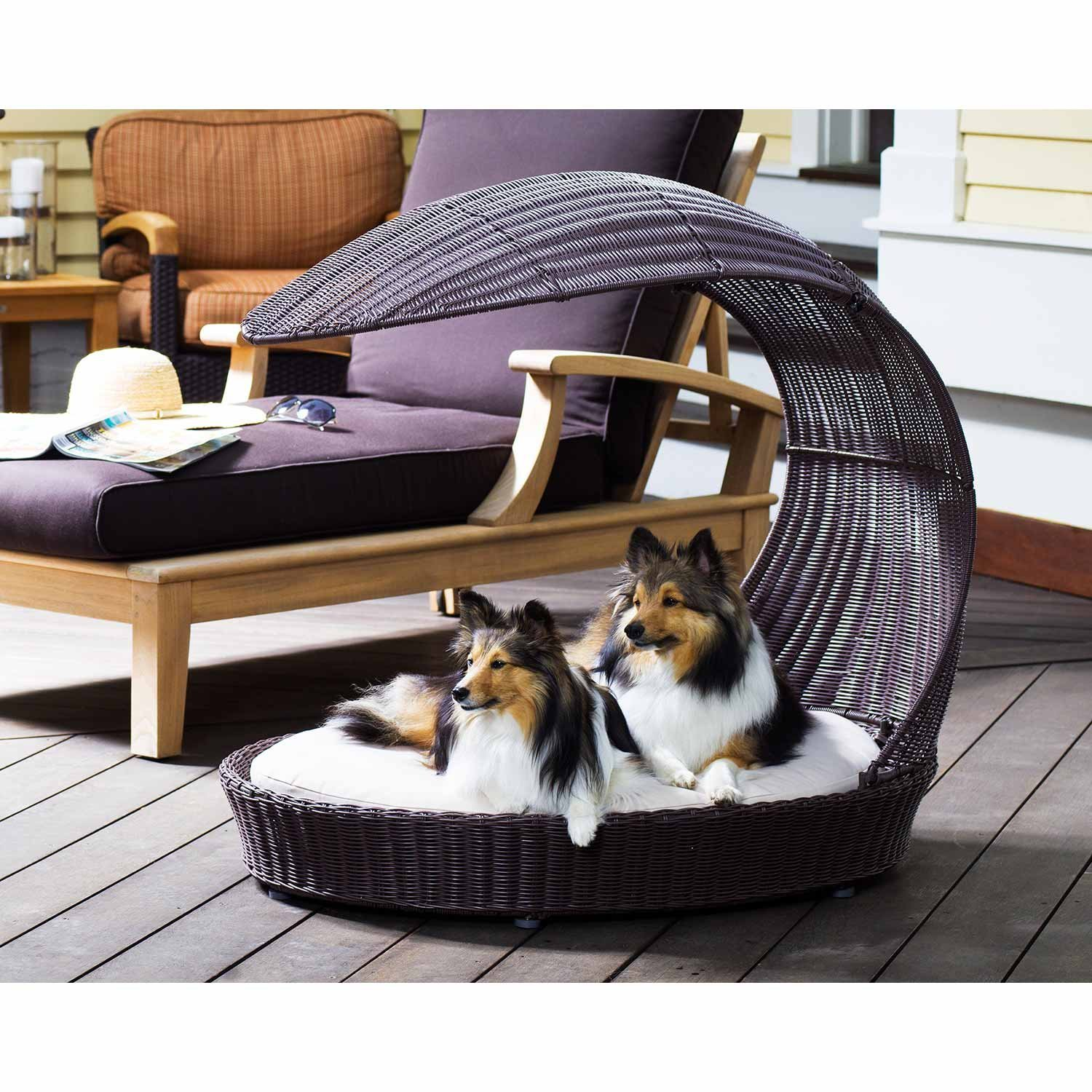 Outstanding Refined Canine Outdoor Dog Bed Thepetfurniturestore Interior Design Ideas Tzicisoteloinfo