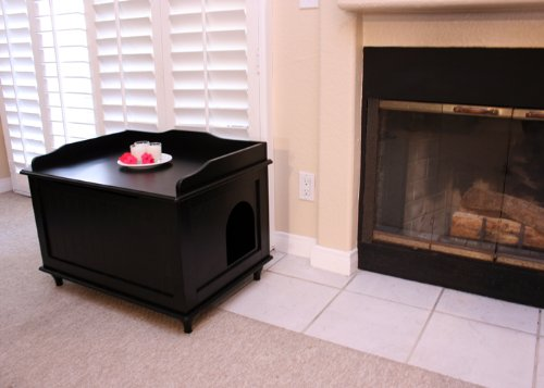 Designer-Catbox-Litter-Box-Enclosure-in-Black-0-2