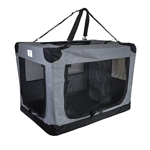Dog Soft Crate 26 Inch Kennel For Pet Indoor Home Amp Outdoor Use Soft Sided 3 Door