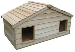 Waterproof Wooden Cat House For Some Outdoor Cats