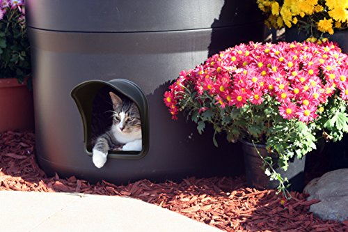 The Kitty Tube Gen 3 Outdoor Insulated Cat House With