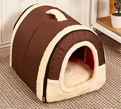 Winter Warm Foldable Non Slip Outdoor Pet Kennel Cozy Dog