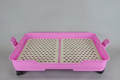 25 Quot Homey Pet Dog Cat Rabbit Cage W Casters Floor Grid