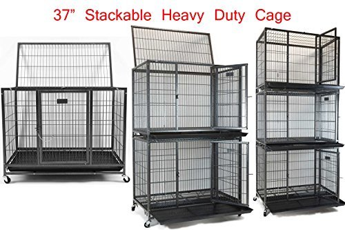 New 37 Quot Homey Pet Open Top Heavy Duty Dog Pet Cage Kennel